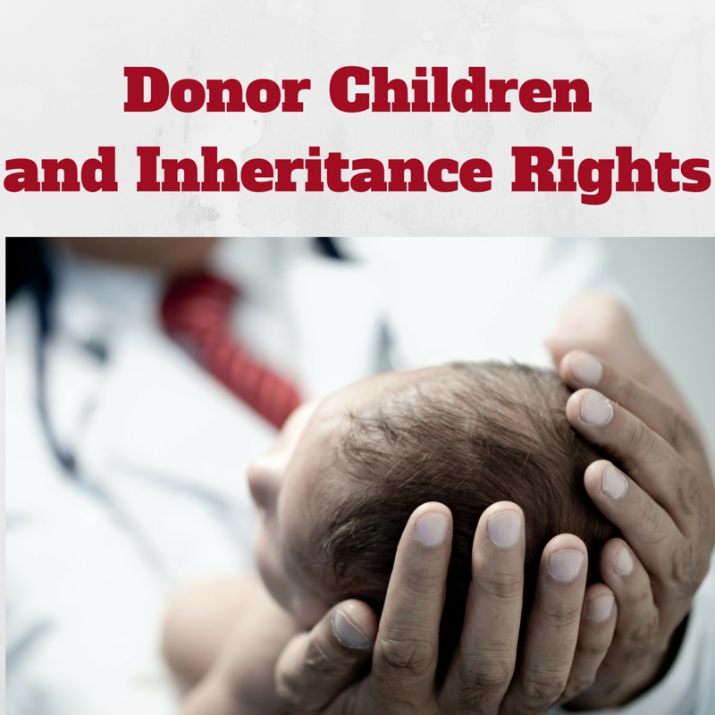 What are the inheritance rights of Donor Children?