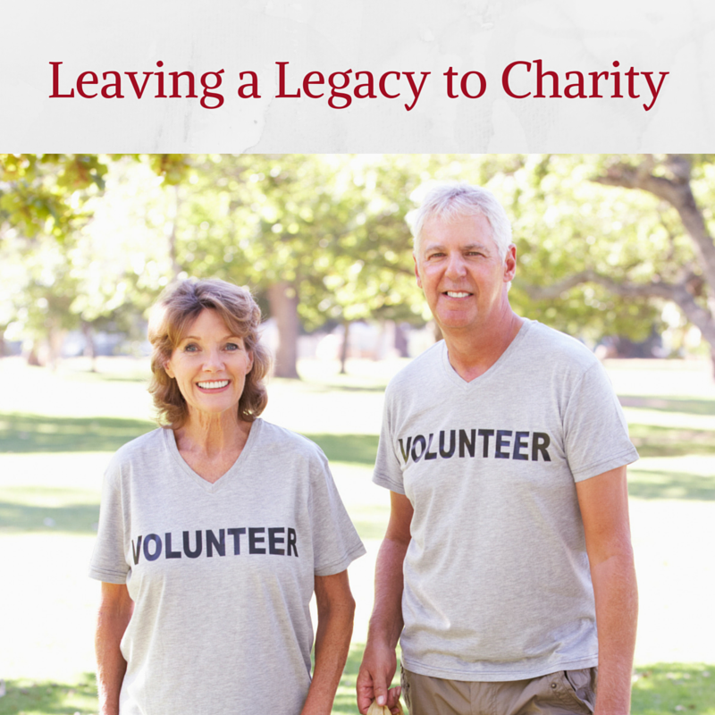 Leave Money to Charity in Your Will