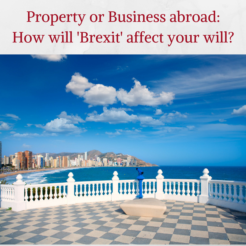 How will Brexit affect your Will?